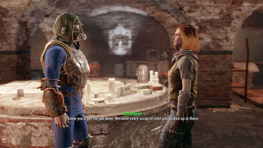 Прохождение под землей и под прикрытием Fallout 4