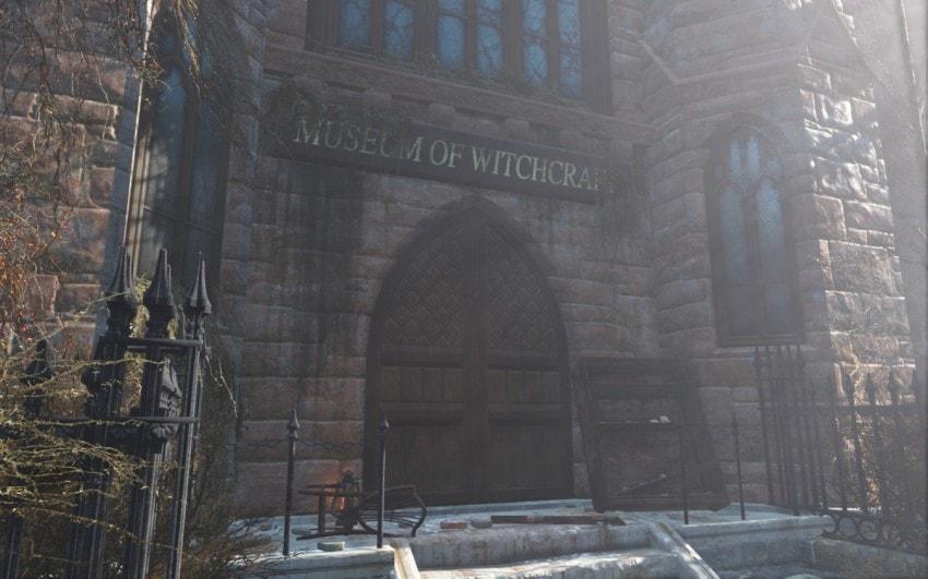 Прохождение музей ведьм Cалема Fallout 4