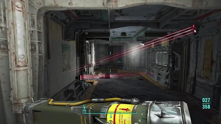 Прохождение Непредсказуемое поведение Fallout 4