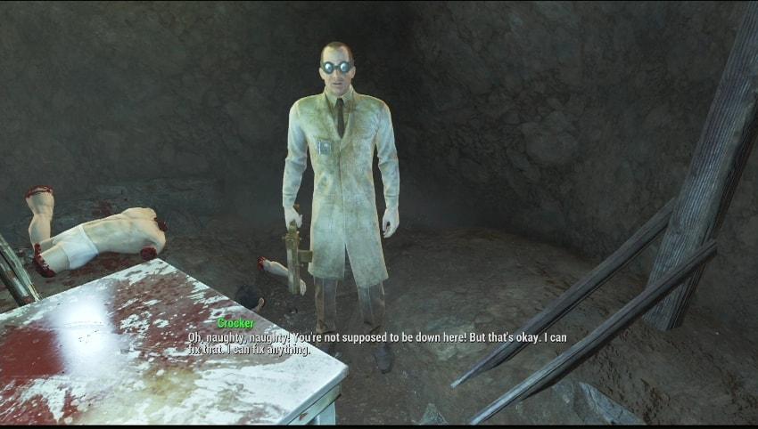 Прохождение Фокус с исчезновением Fallout 4