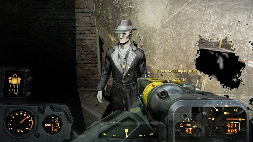 Костюм серебряного плаща Fallout 4-2