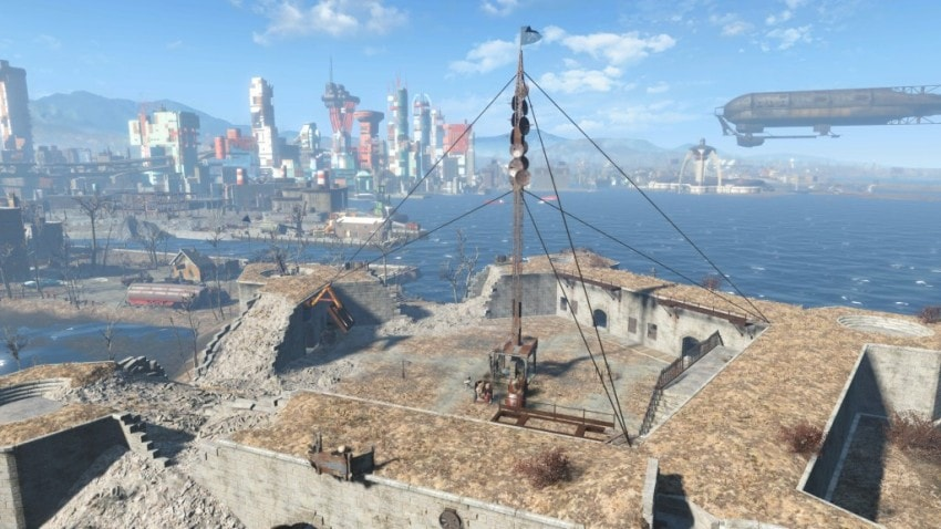 Прохождение Старые пушки в Fallout 4