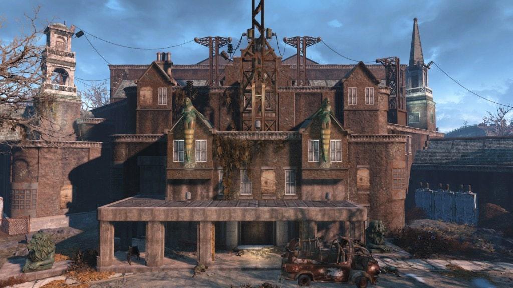 Психиатрическая больница Парсонс в Fallout 4 как войти