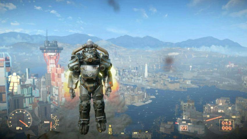 Реактивный ранец в Fallout 4