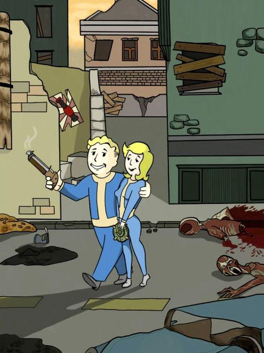 Романтические отношения в Fallout 4