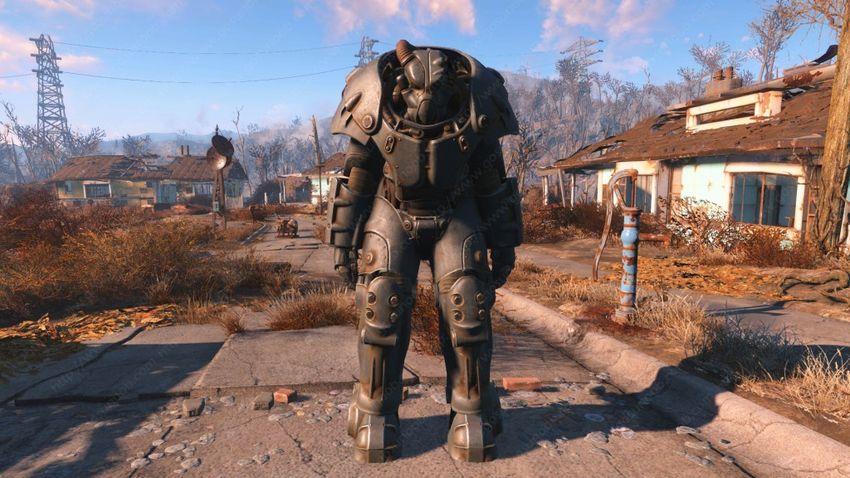 Силовая броня X-01 в Fallout 4