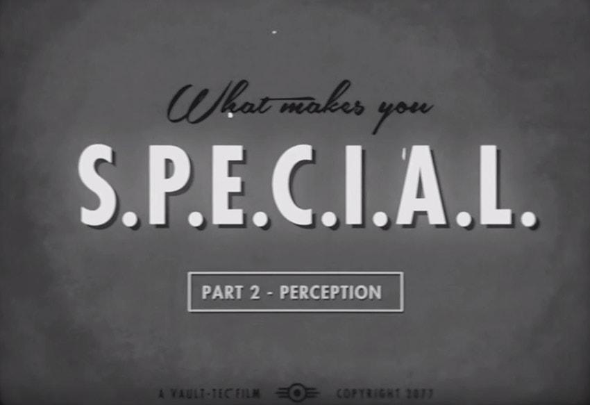 SPECIAL в Fallout 4