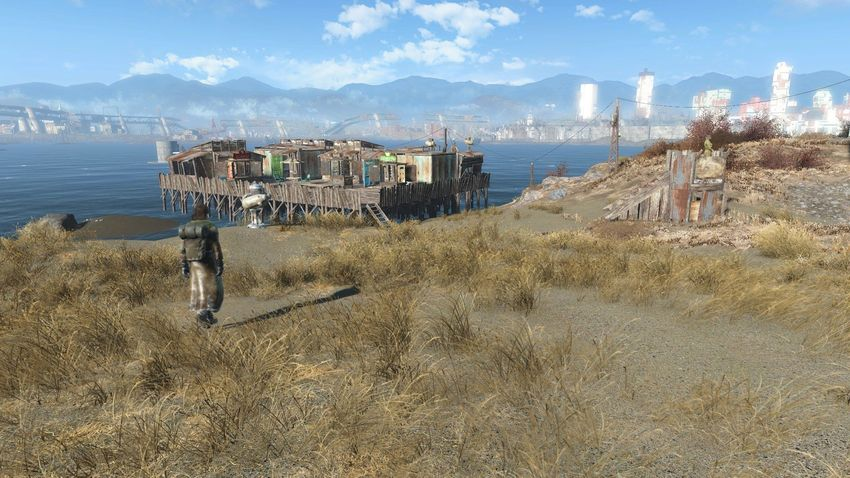 Спектакль айленд в Fallout 4