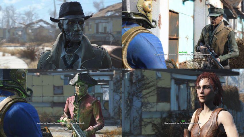 Спутники список в Fallout 4