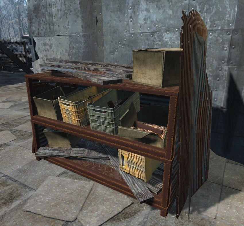 Станция сбора мусора в Fallout 4
