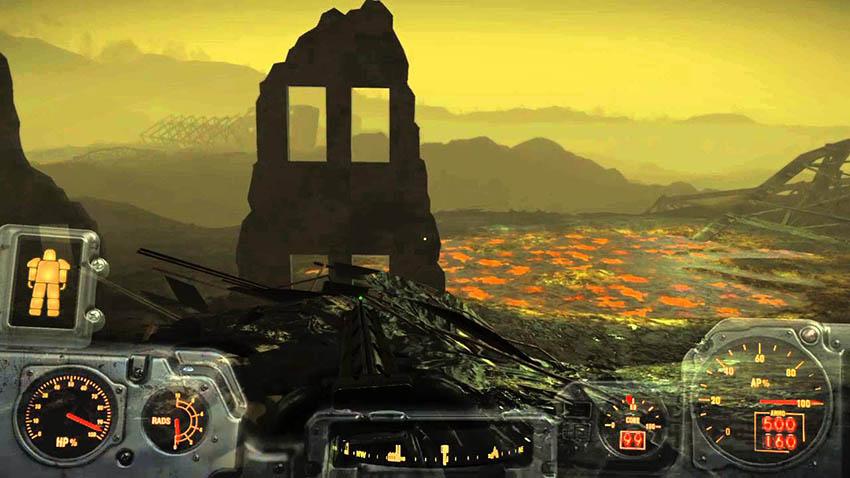Светящееся море в Fallout 4