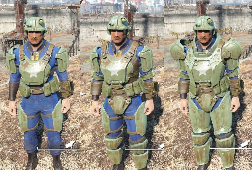 Тяжелая боевая броня в Fallout 4