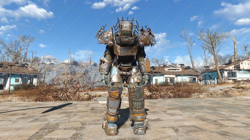 Тяжёлая боевая броня в Fallout 4 где найти