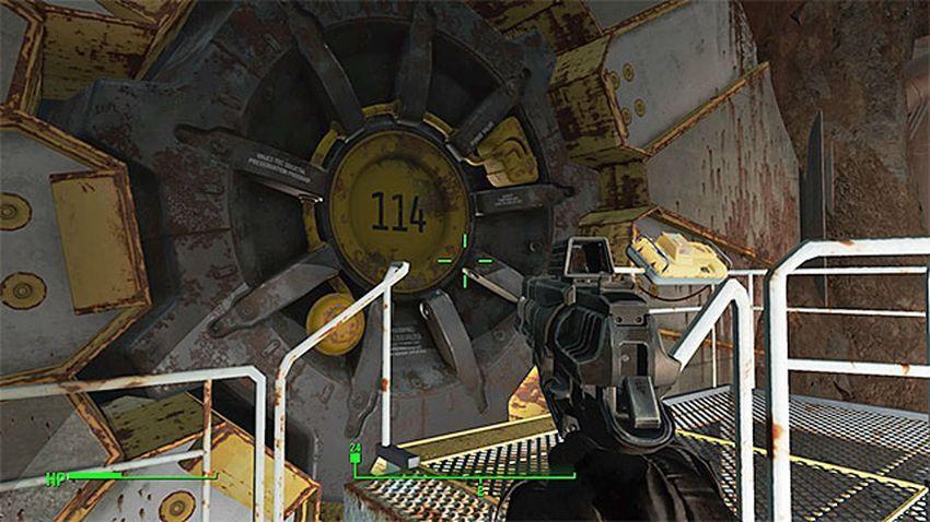 Убежище 114 в Fallout 4