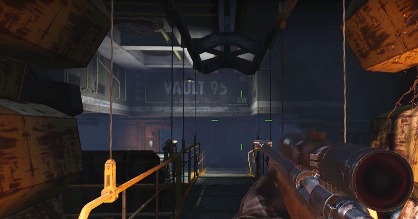 Убежище 95 в Fallout 4