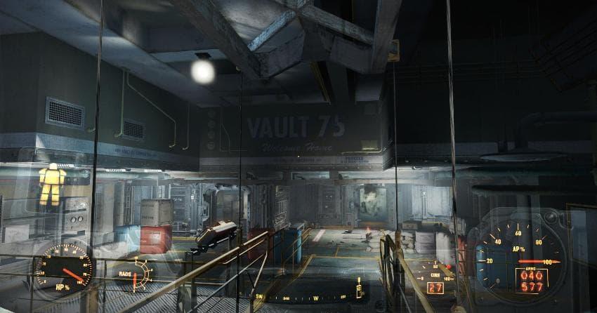 Убежище 75 в Fallout 4
