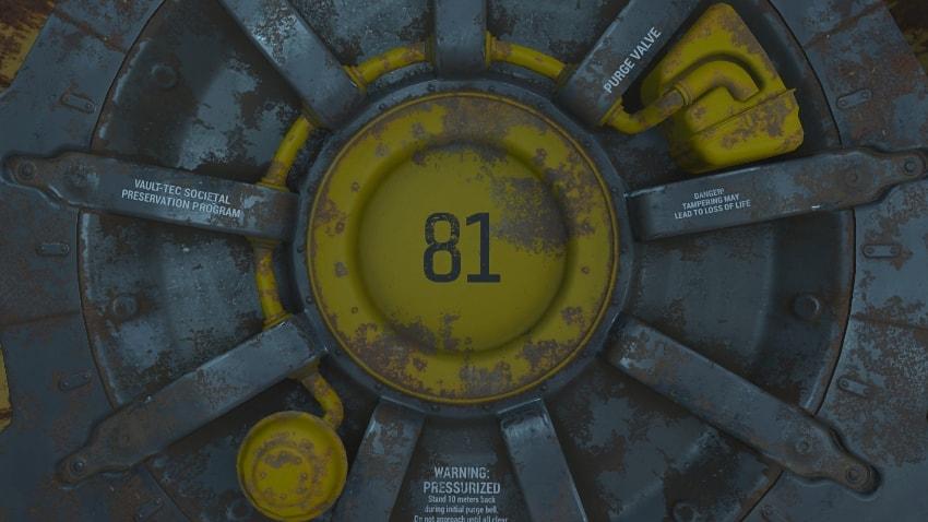 Убежище 81 в Fallout 4