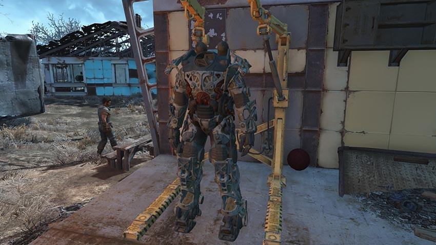 Уникальная броня в Fallout 4