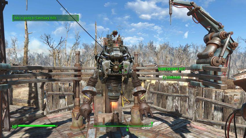 Вылетает игра, баги Automatron Fallout 4