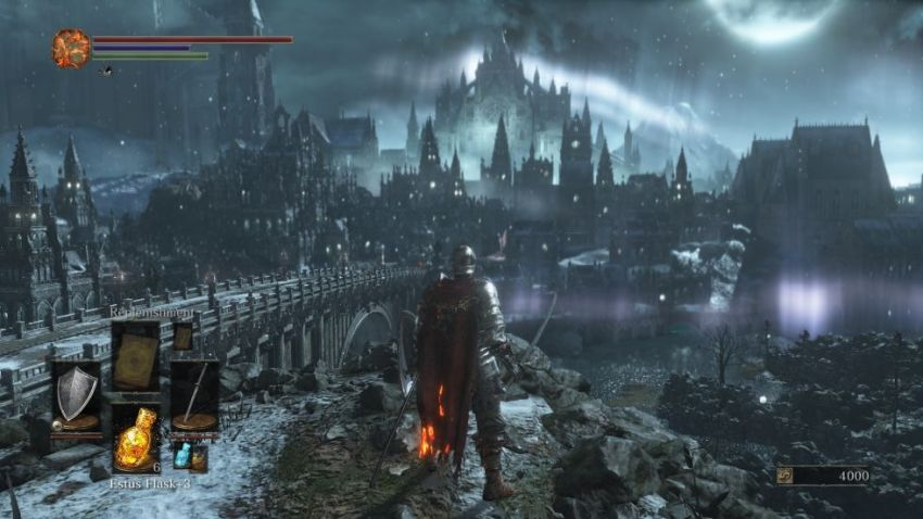 Dark Souls 3 белый экран при запуске