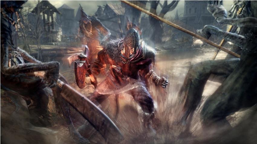 Dark Souls 3 черный клинок