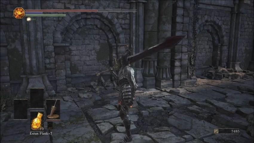 Dark Souls 3 черный рыцарь