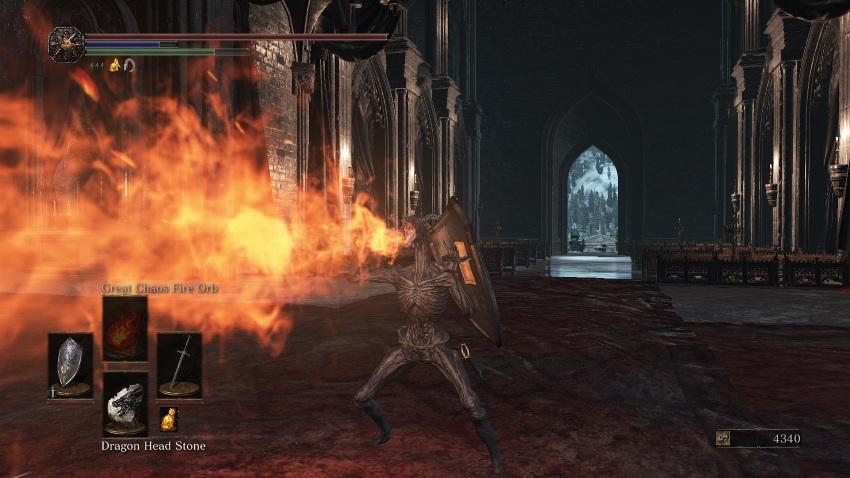 Dark Souls 3 Камень драконьей головы