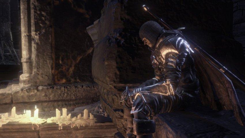 Dark Souls 3 меч трава Хоквуда