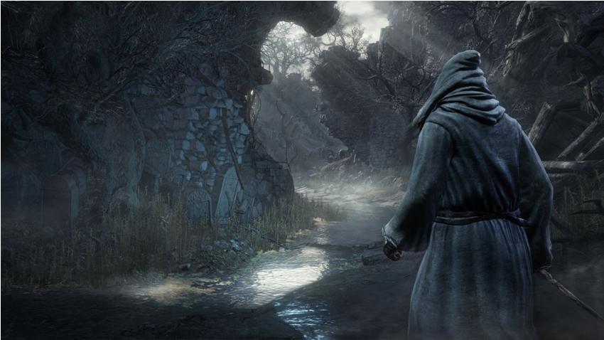 Dark Souls 3 Меч трава волчьей крови