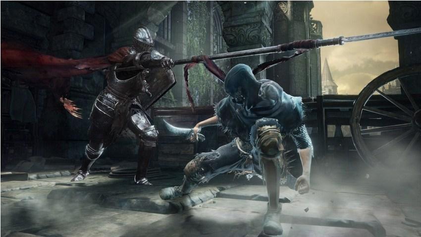 Dark Souls 3 парное оружие
