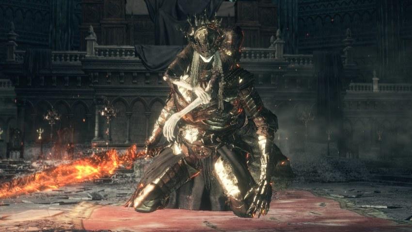 Dark Souls 3 принцы близнецы