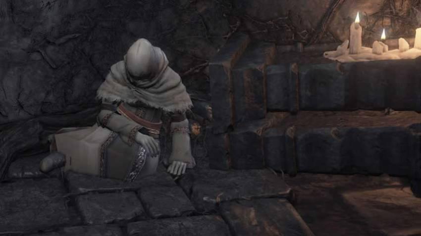 Dark Souls 3 священный фолиант