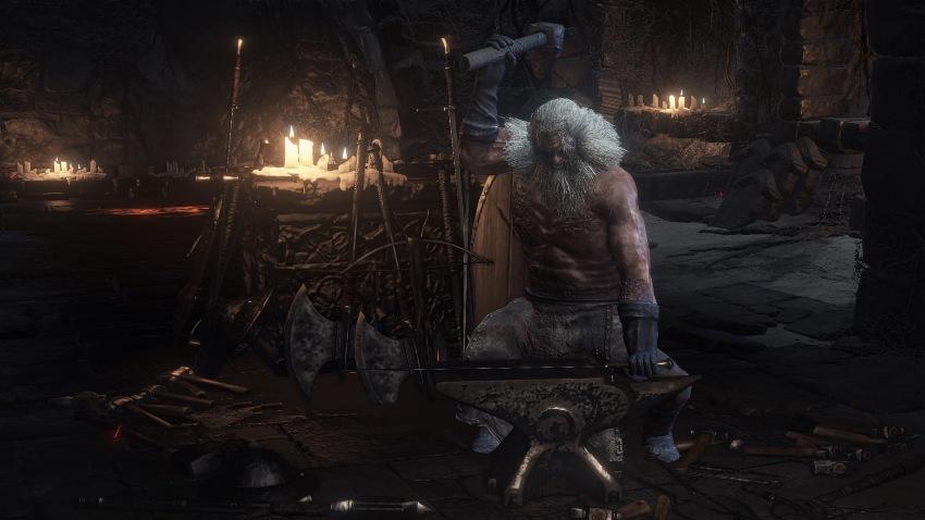 Dark Souls 3 убил кузнеца