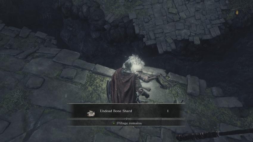 Dark Souls 3 Горящий Осколок кости