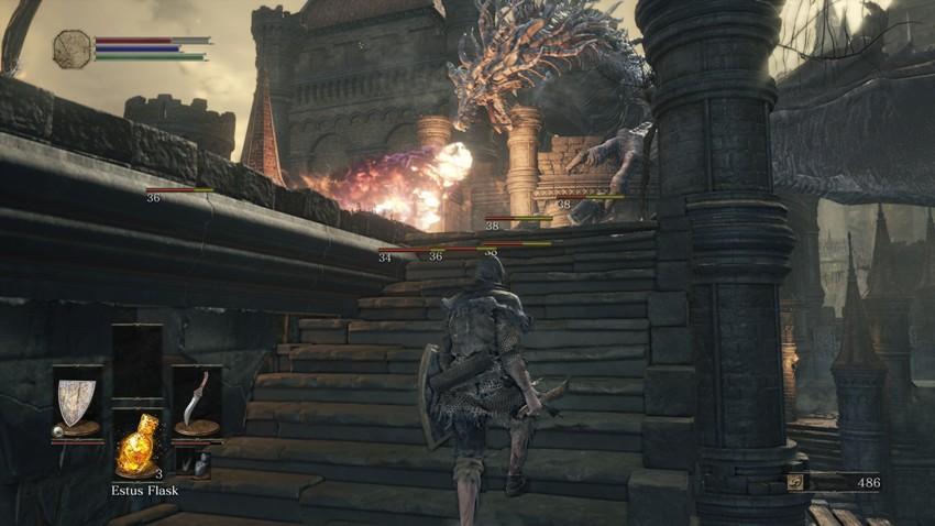 Как убить дракона в Dark Souls 3