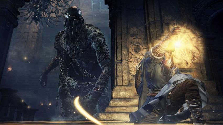 Dark Souls 3 Храм Глубин прохождение