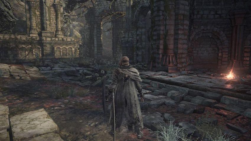 Dark Souls 3 Храм Глубин прохождение-1