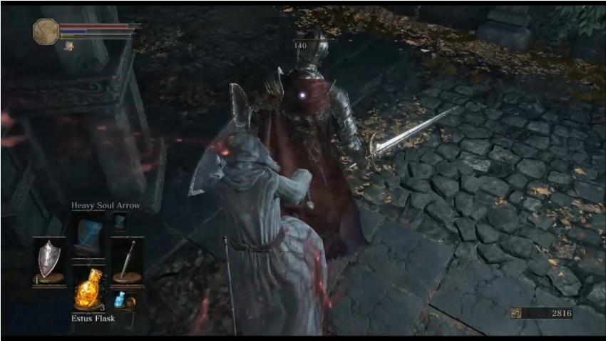Как делать бэкстаб в Dark Souls 3