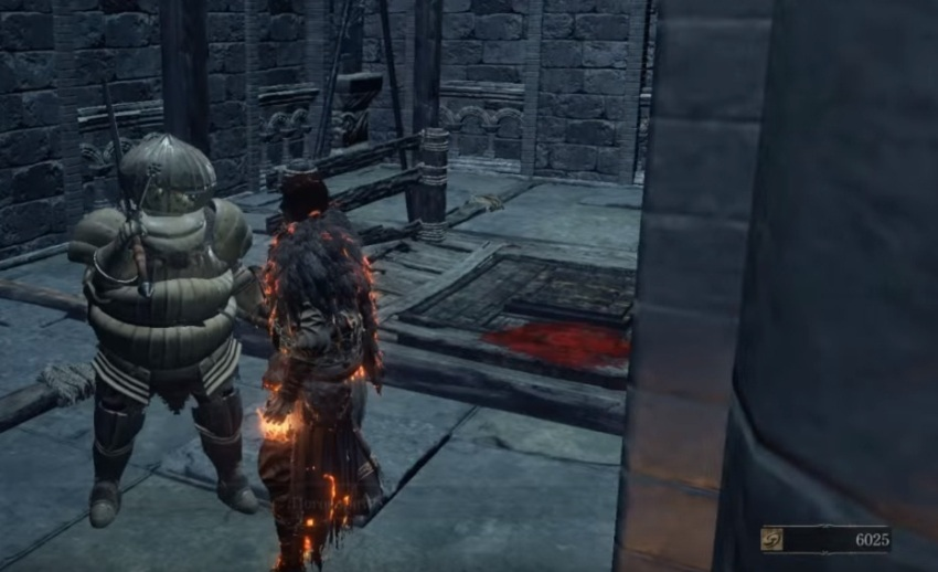 Рыцарь из Катарины Dark Souls 3