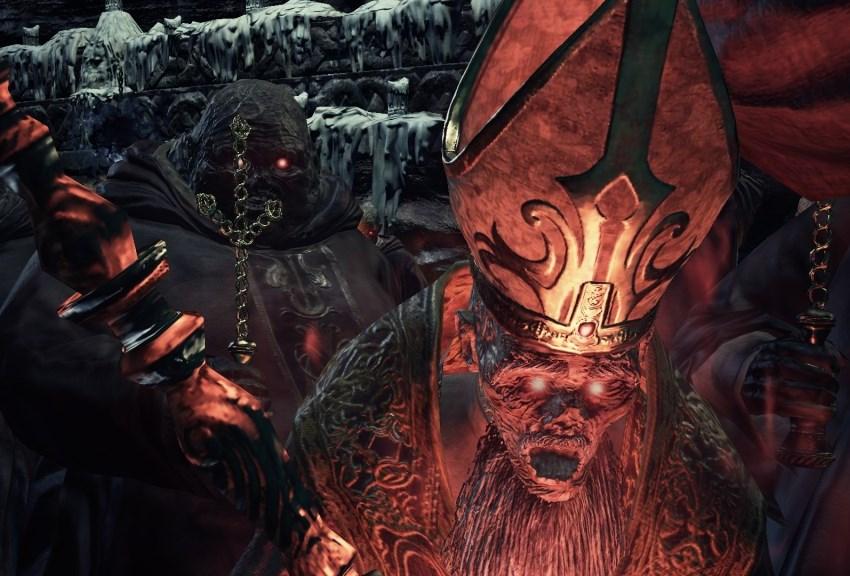 Dark Souls 3 Дьяконы глубин