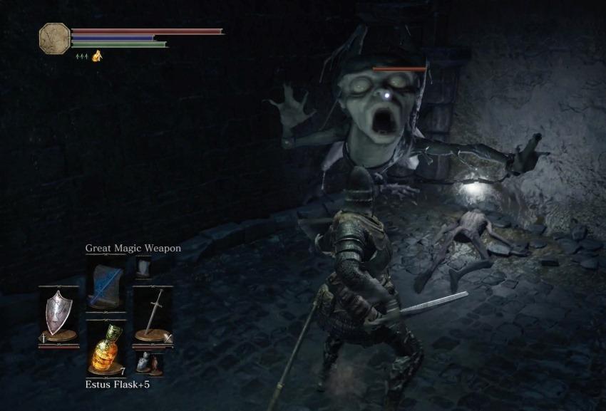 Dark Souls 3 подземелье Иритилла