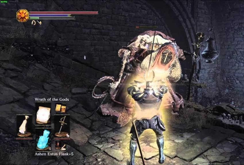 Dark Souls 3 титановая чешуя