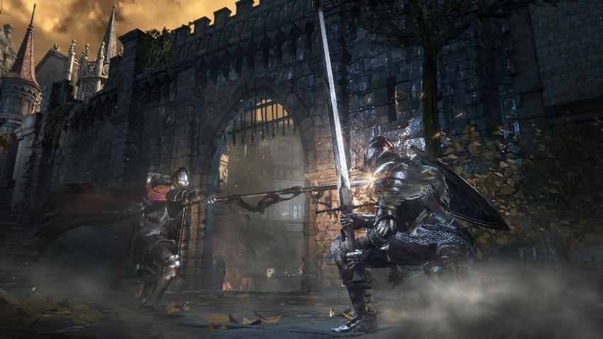 Иллюзорные стены в Dark Souls 3