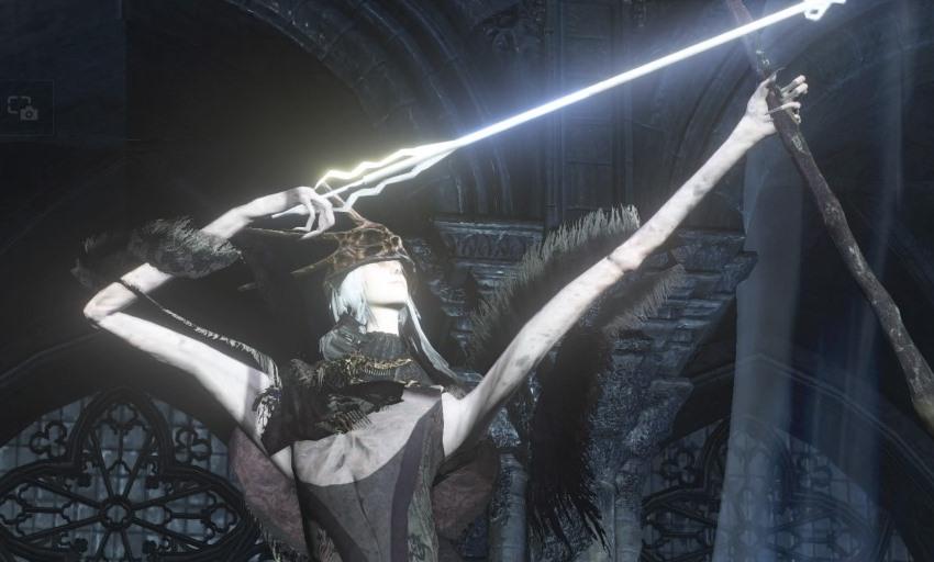 Dark Souls 3 Олдрик Пожиратель богов