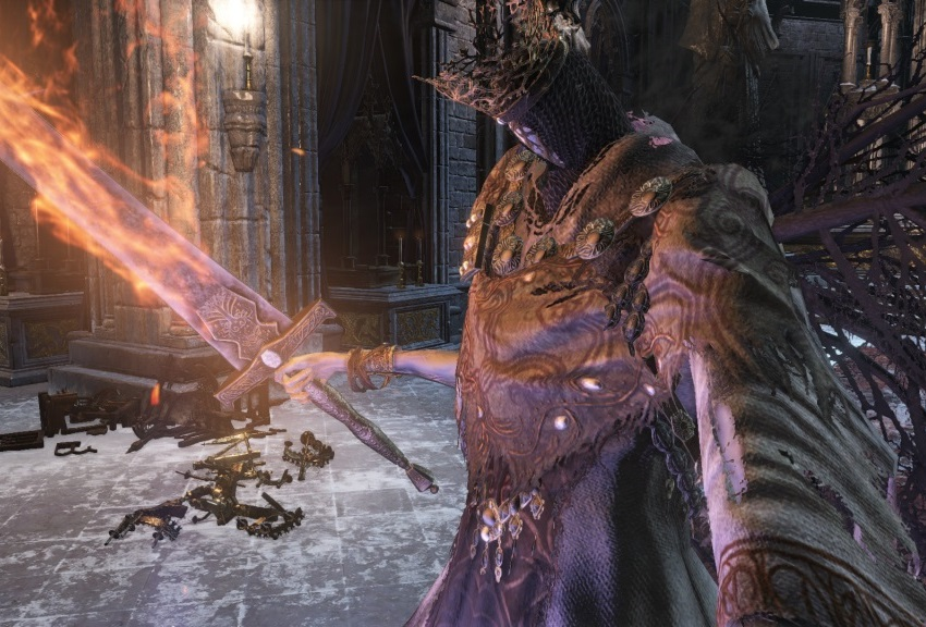 Понтифик Салливан Dark Souls 3
