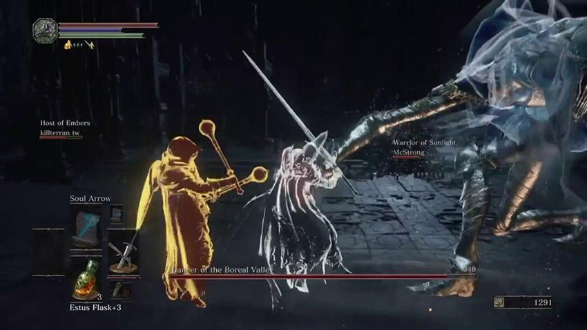 Dark Souls 3 безумный фантом
