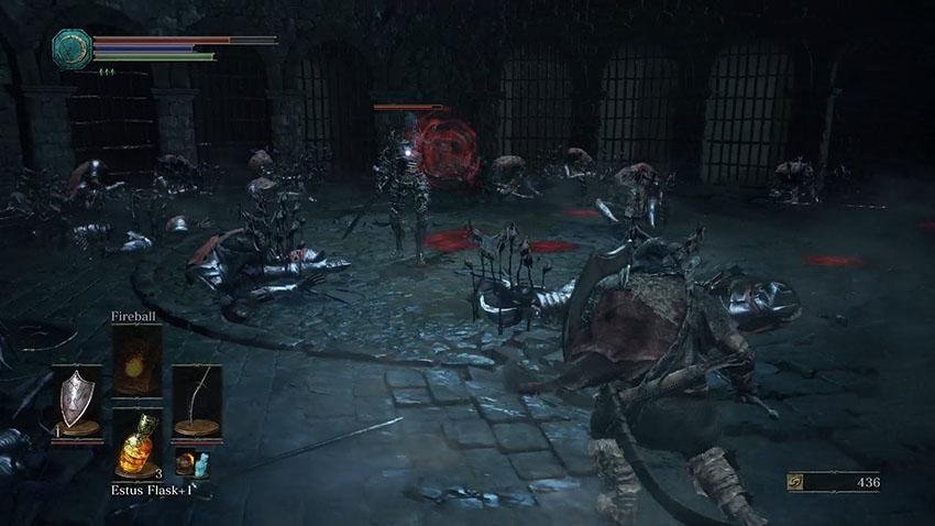 Dark Souls 3 фарм душ