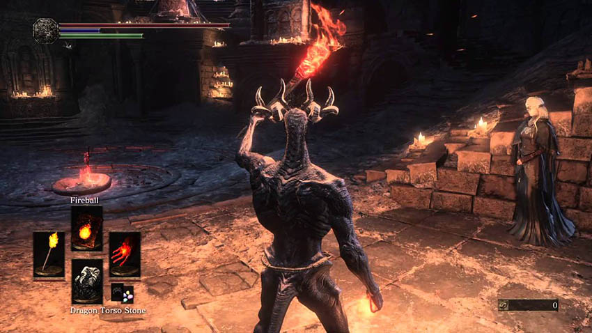 Dark Souls 3 камень драконьего туловища