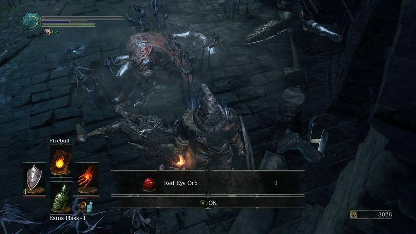 Dark Souls 3 красное око