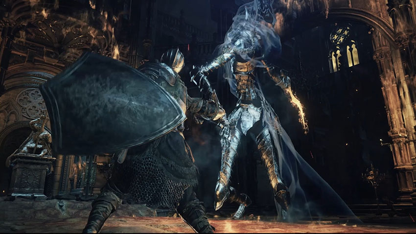 Dark Souls 3 меч тьмы